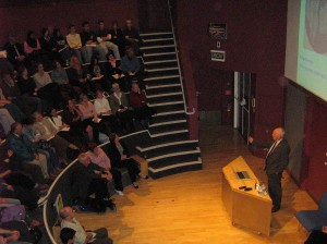 Professor Martin Evans at our recent Stem Cell Debate.