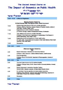 View programme [PDF]