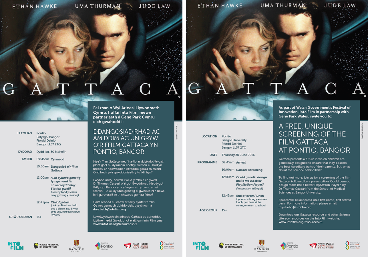 Gattaca Eng and Welsh
