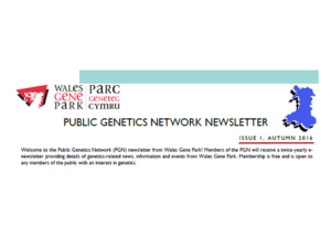 Sign up to our Public Genetics Network!