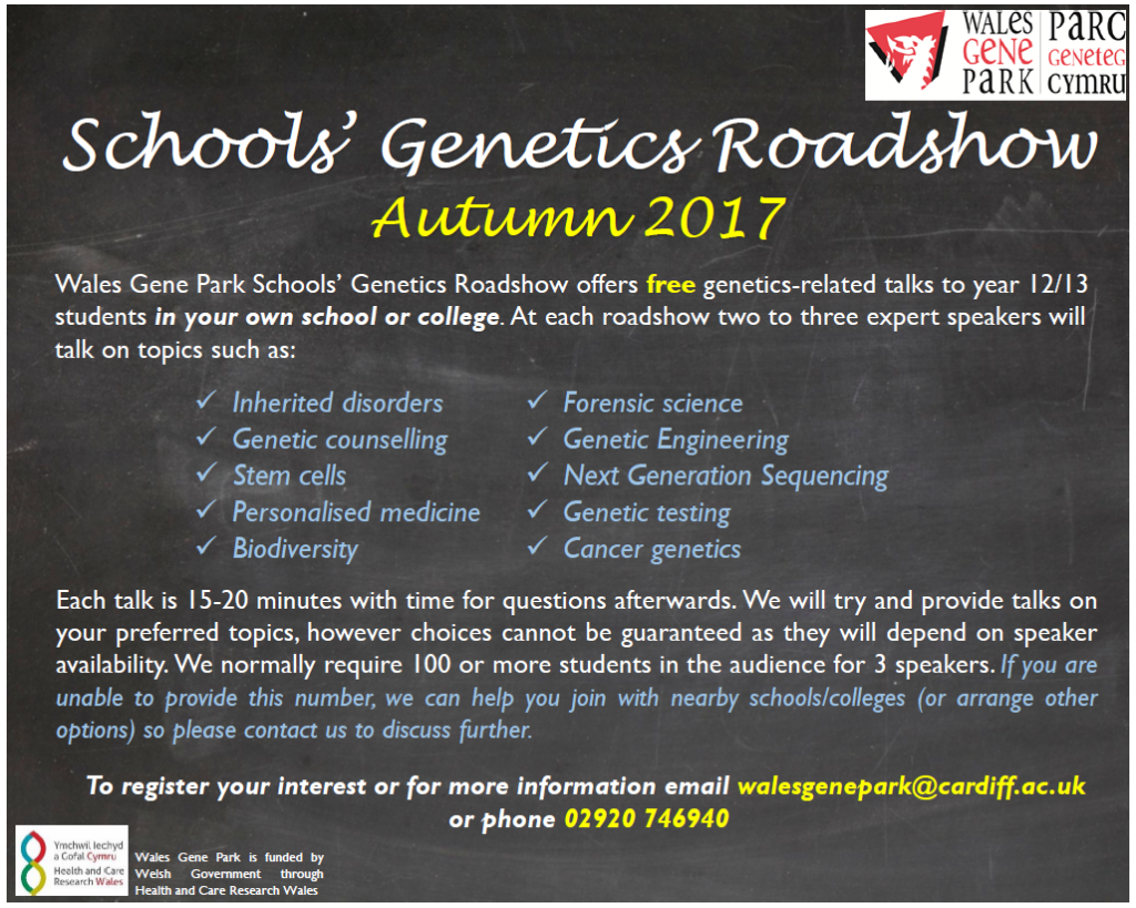 Roadshow website flyer english