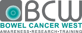 Bowel Cancer West logo