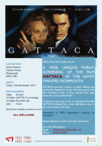 GATTACA flyer screenshot 1